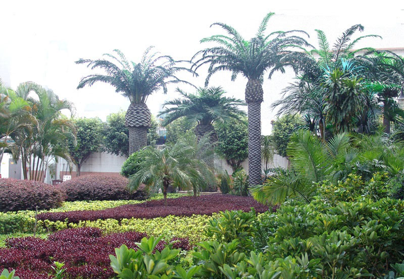 צמחייה מלאכותית, עצים גדולים, Tree4ever