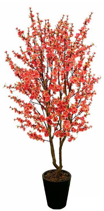 עצים מלאכותיים, עציצים מפלסטיק